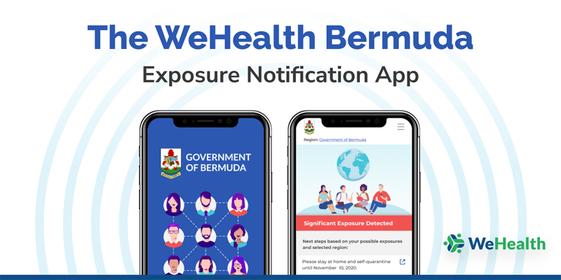 WeHealth Bermuda App November 2020