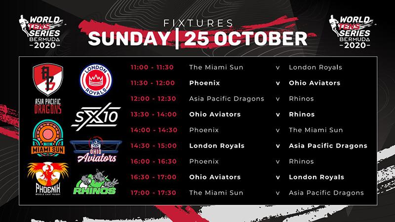World Tens Bermuda October 25 2020 Fixtures 1