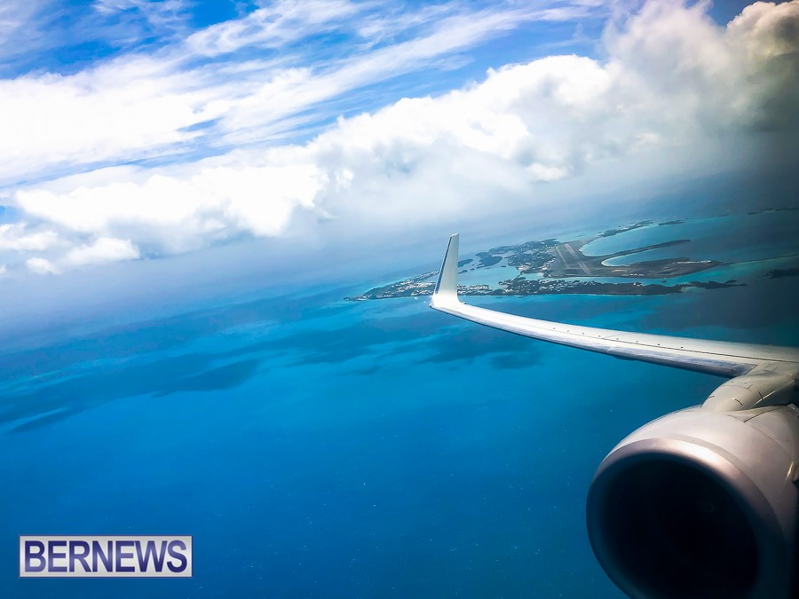 667 - The view of our beautiful Island as seen from a leaving plane