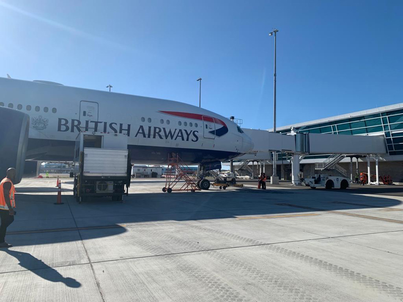 BA plane at the new terminal Bermuda Nov 2020 (3)