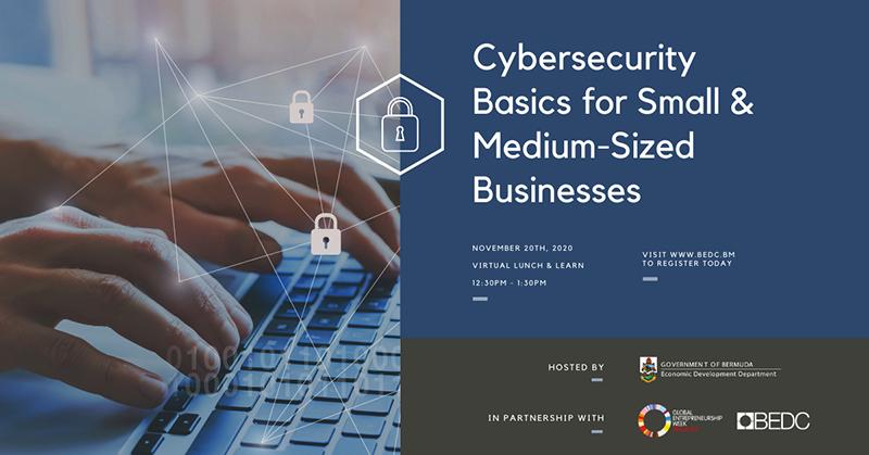 BEDC Cybersecurity Lunch & Learn Bermuda November 2020