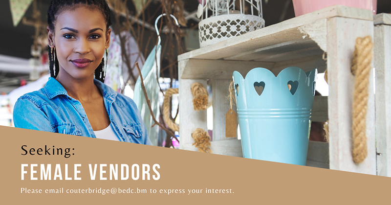 BEDC Seeking Female Vendors Bermuda Nov 2020