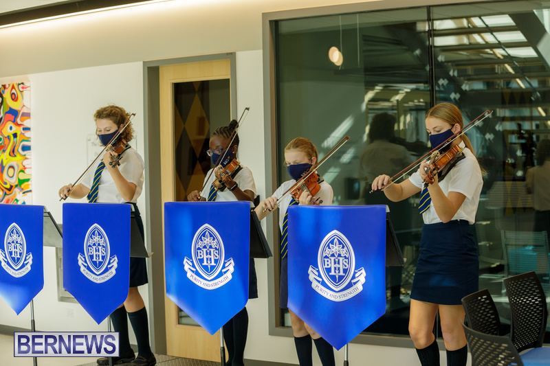 BHS Bermuda school Innovation Center Opening 2020 (2)