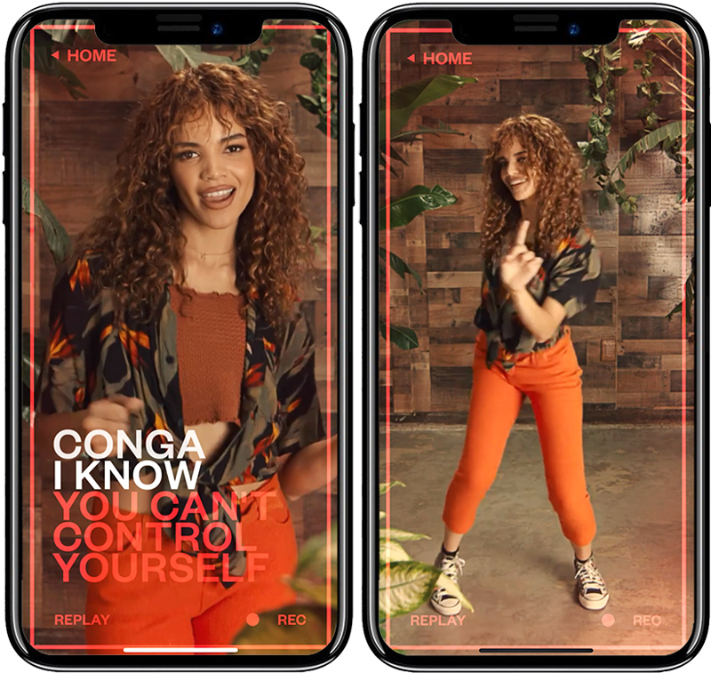 Bacardi Conga PR Phone only Sing and only Dance Nov 2020