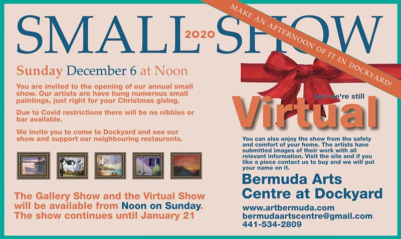 Bermuda Arts Centre Small Show November 2020