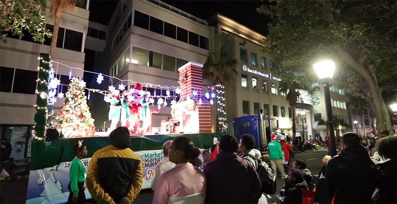 Christmas Parade Bermuda Nov 5 2020