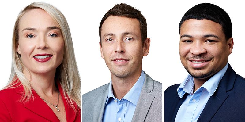 Clarien Appoints Three New Team Members Bermuda November 2020