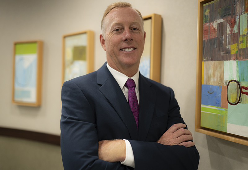 Clarien CEO Ian Truran Bermuda November 2020