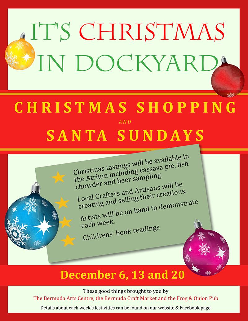 poster for dockyard christmas
