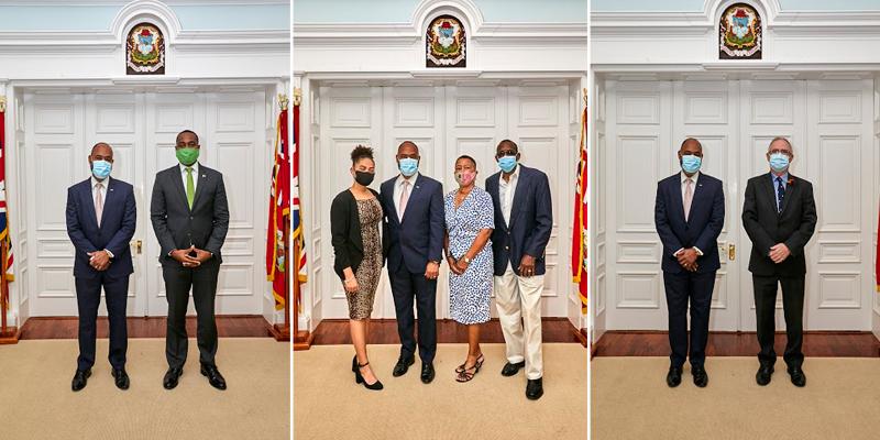 Dr Ernest Peets Sworn In As Minister Bermuda Nov 9 2020 (5)