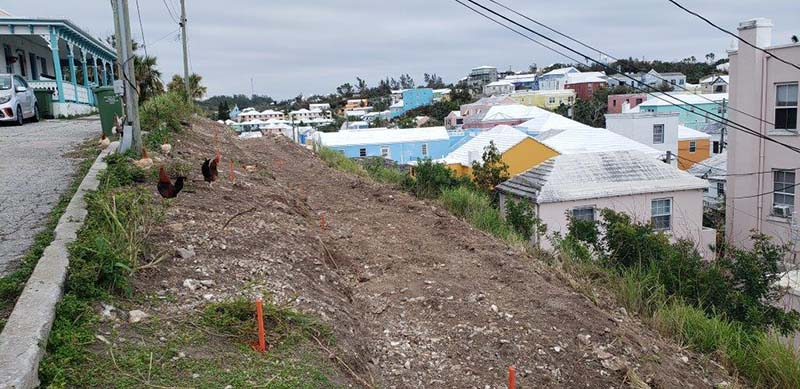 Ewing Street Rock Cut Project Bermuda Nov 2020 2