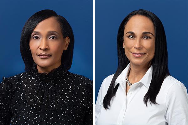 Fiona Bada & Janine Ratteray Bermuda November 2020