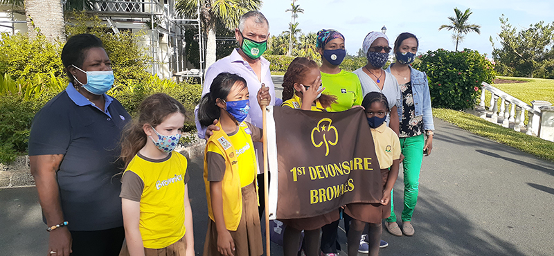 First Devonshire Brownie Reading Initiative Bermuda Nov 2020 1