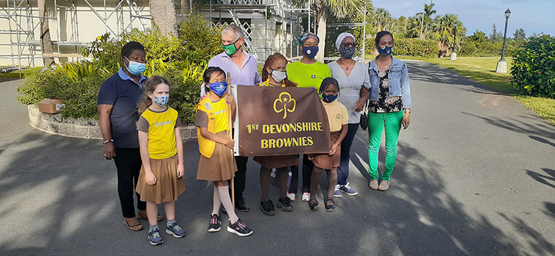 First Devonshire Brownie Reading Initiative Bermuda Nov 2020 2