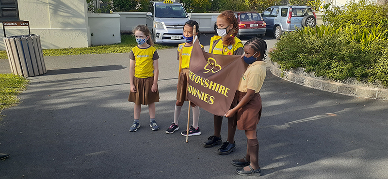 First Devonshire Brownie Reading Initiative Bermuda Nov 2020 3