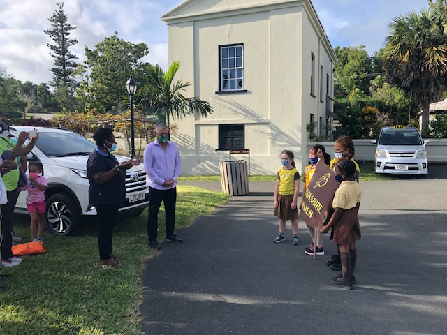 First Devonshire Brownie Reading Initiative Bermuda Nov 2020 6