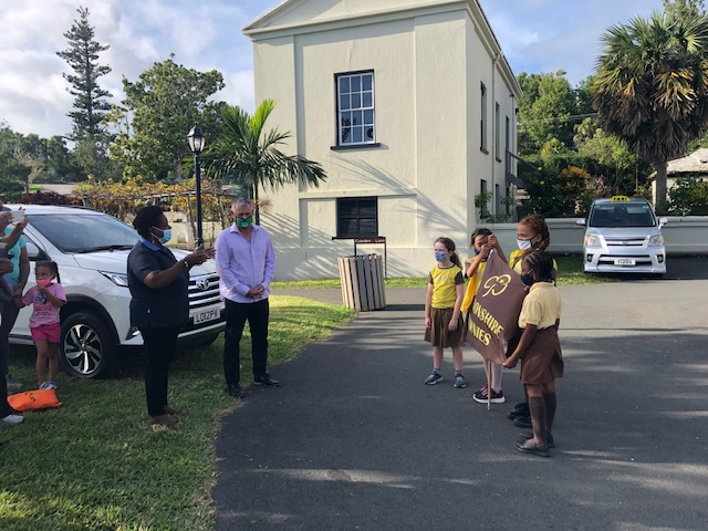 First Devonshire Brownie Reading Initiative Bermuda Nov 2020 8