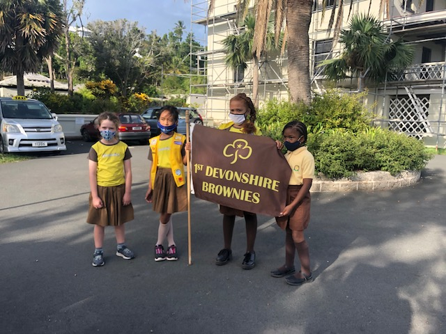 First Devonshire Brownie Reading Initiative Bermuda Nov 2020 9