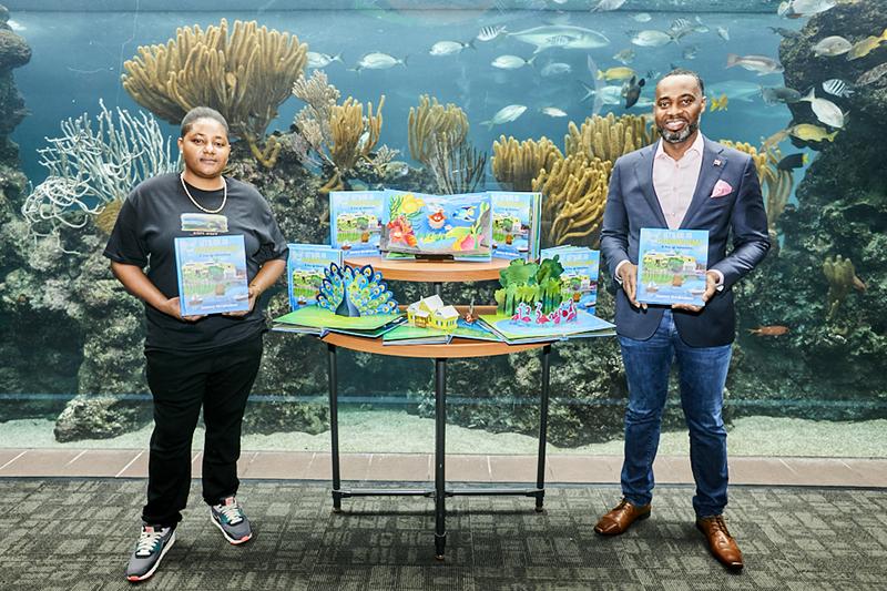 Let's Go To The Aquarium Book Launch Bermuda Nov 2020 1