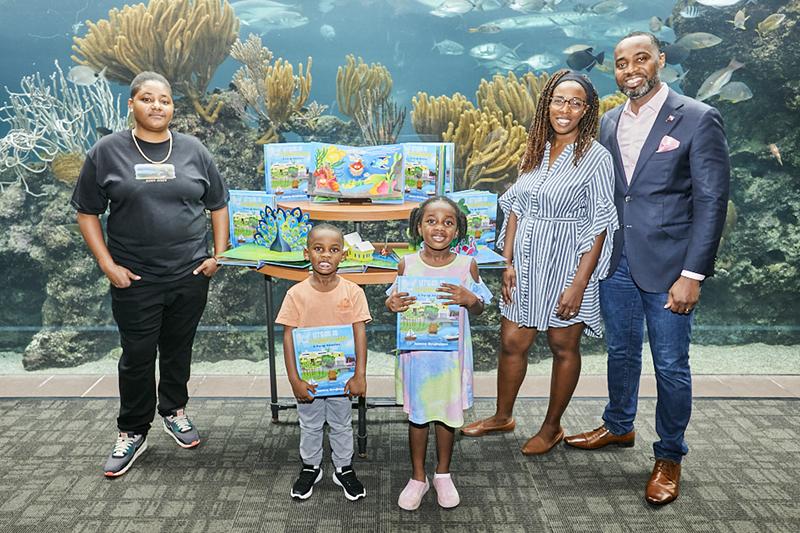 Let's Go To The Aquarium Book Launch Bermuda Nov 2020 2