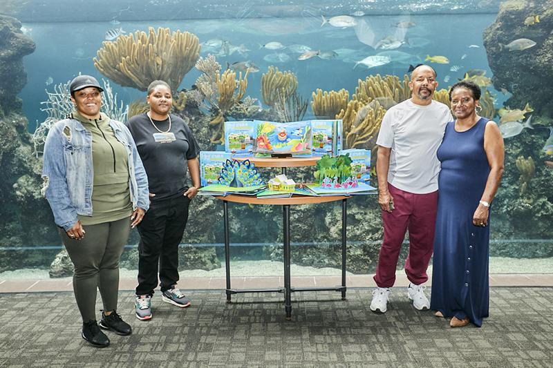 Let's Go To The Aquarium Book Launch Bermuda Nov 2020 3