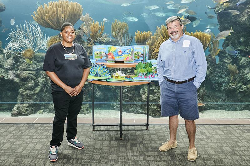 Let's Go To The Aquarium Book Launch Bermuda Nov 2020 4