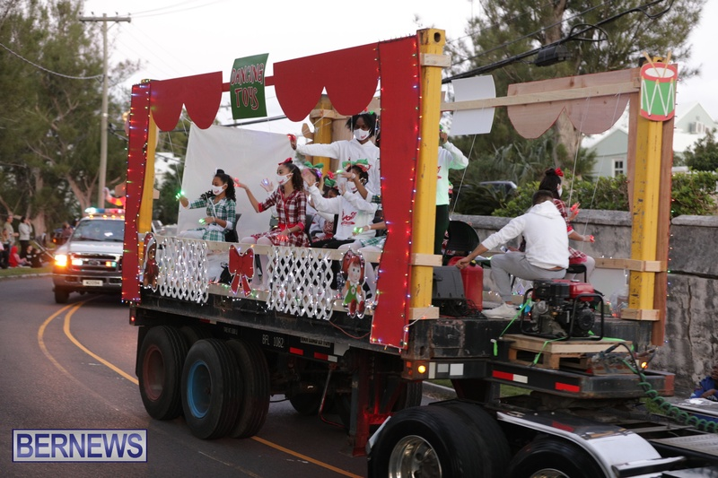 MarketPlace Driving Christmas Parade Nov 29 2020 Bermuda (6)