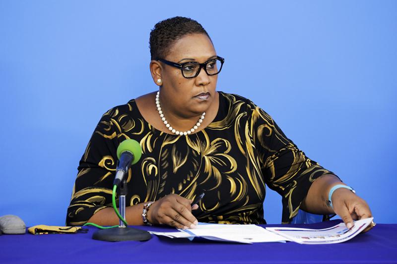 Minister Renee Ming Bermuda Nov 2020