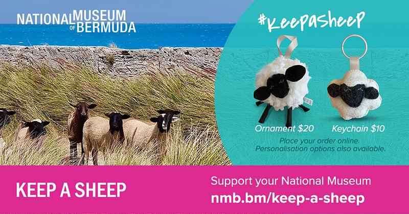 NMB To Sell Sheep Ornaments & Keychains Online Bermuda November 2020