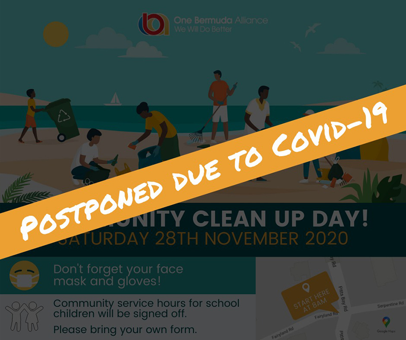 OBA Community Clean Bermuda Nov 28 2020