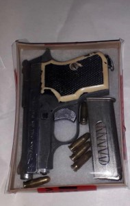 Recovered Firearm Bermuda Nov 2020