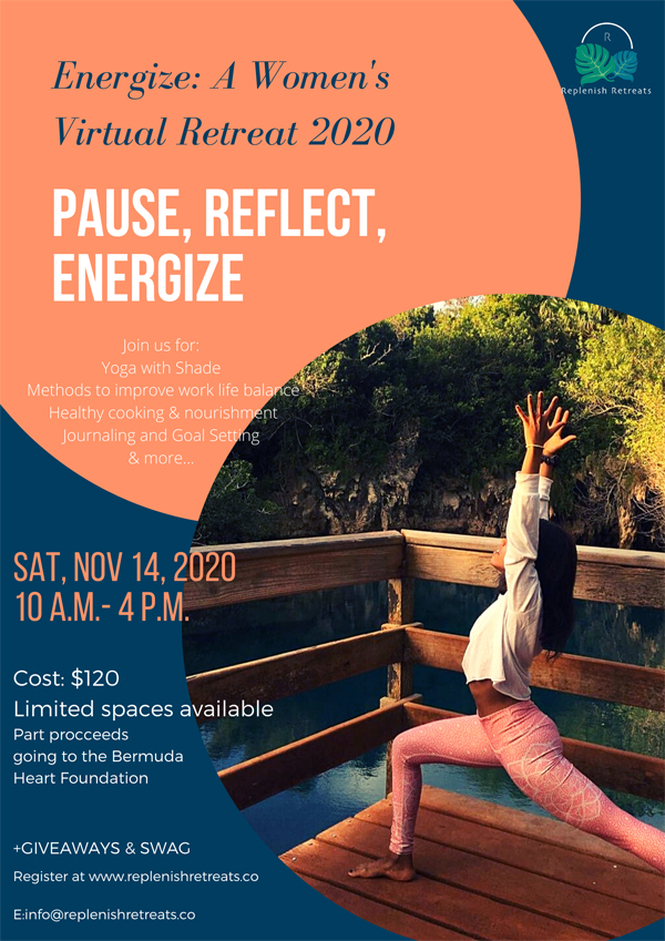 Replenish Retreats Bermuda November 2020
