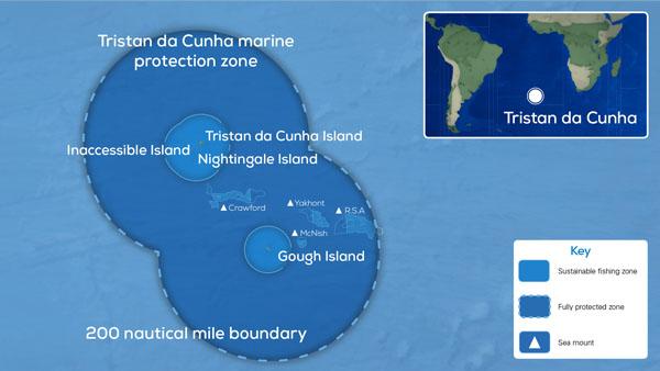 Tristan da Cunha Marine Protection Zone Nov 2020