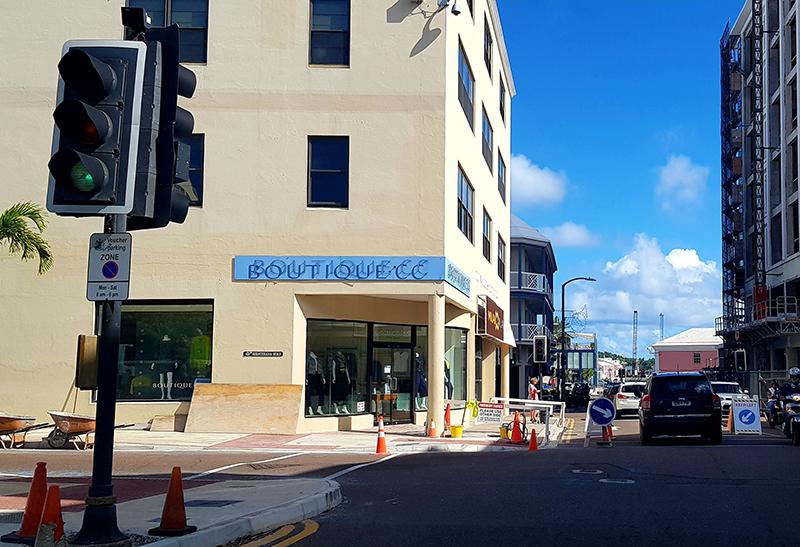 Upgrade Works On Front Street Junctions Bermuda Nov 2020