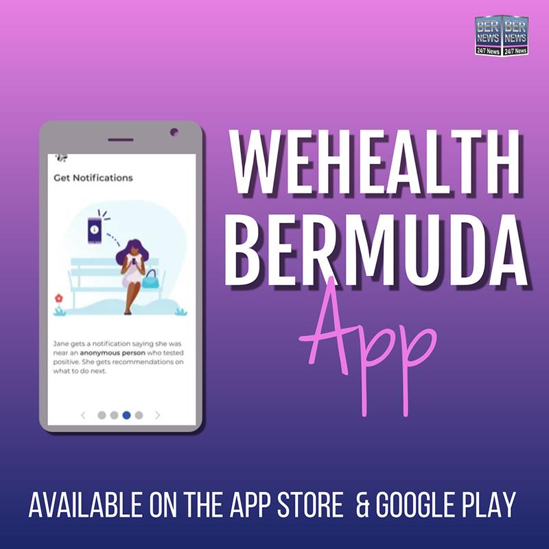 WeHealth Bermuda App November 2020