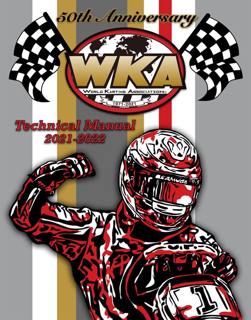 World Karting Association Tech Manual Cover Design Bermuda Nov 2020