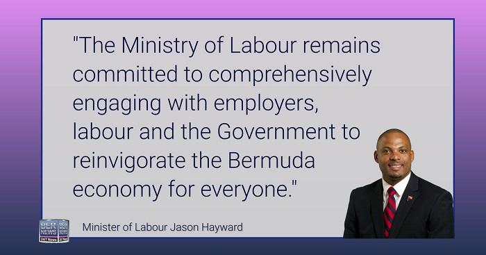 BDA Minister Jason Hayward dec 12 2020