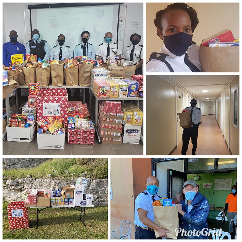 BPS Donate To Community Bermuda Dec 2020 3