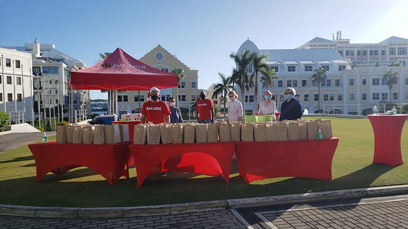 Bacardi Donates To Bartenders In Bermuda Dec 2020 2