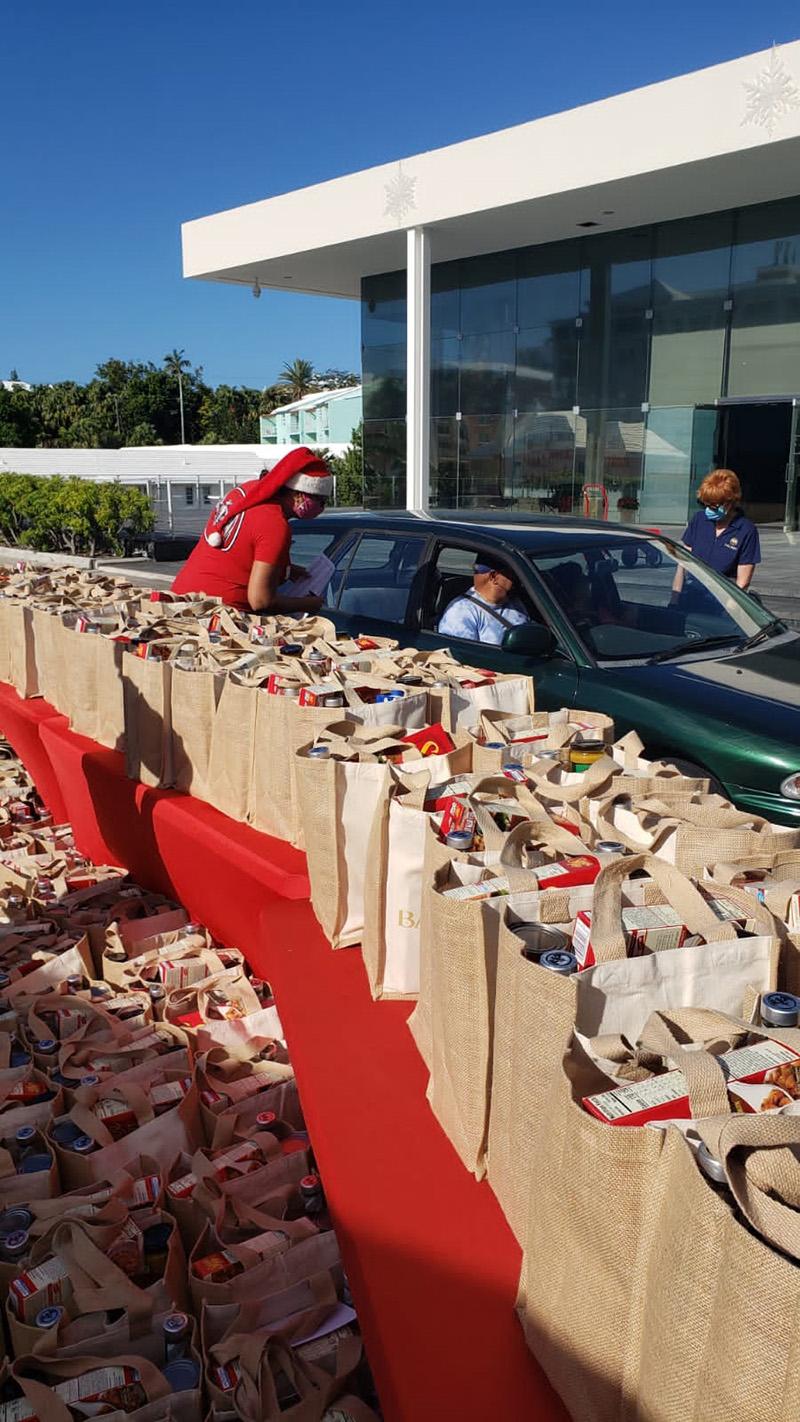 Bacardi Donates To Bartenders In Bermuda Dec 2020 3