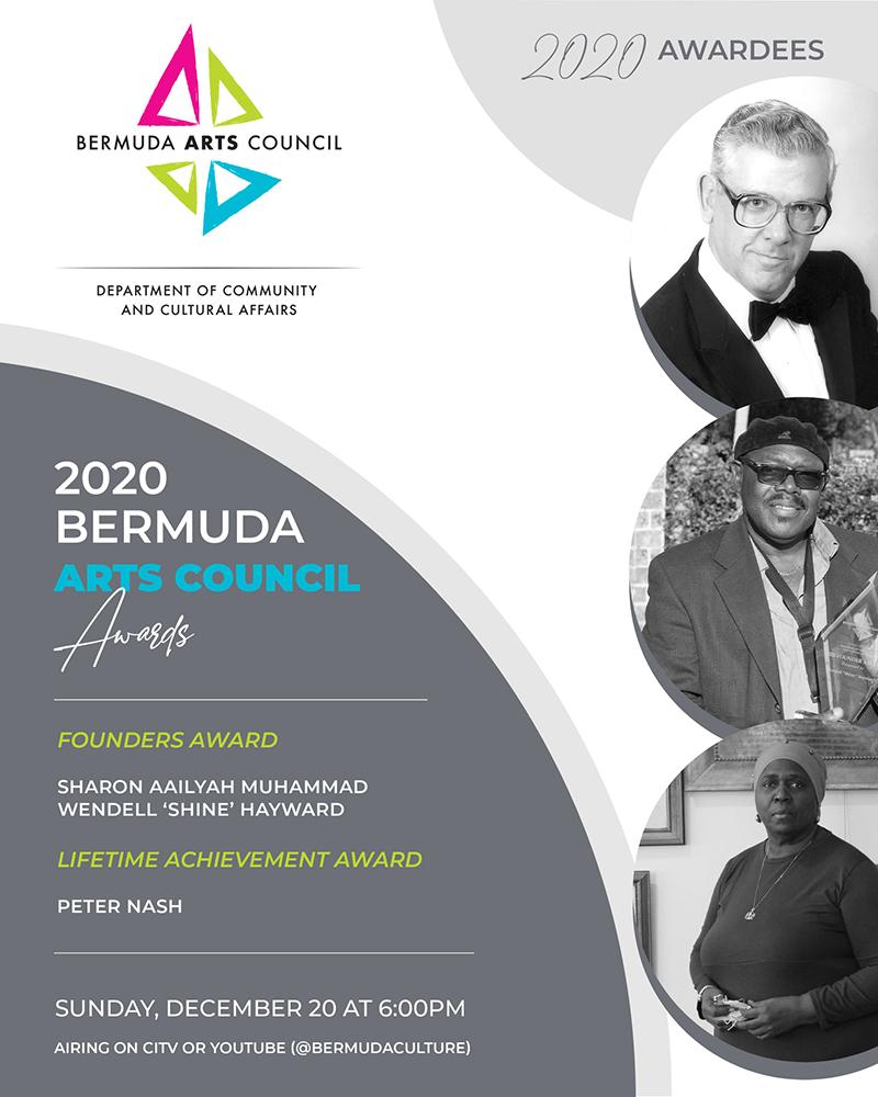 Bermuda Arts Council Awards Bermuda Dec 2020