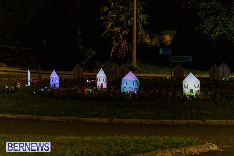 Bermuda Christmas Lights Decorations Hamilton Area 2020 DF 17