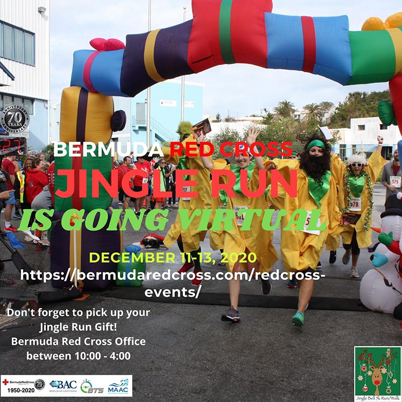 Bermuda Red Cross Jingle Run 5K RunWalk Dec 2020