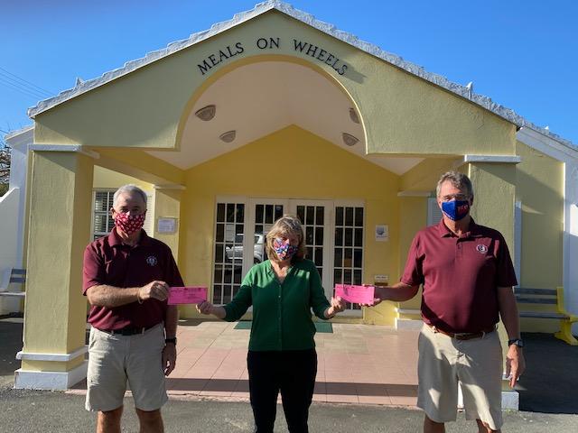 Bermuda Senior Golfers Society Donation Bermuda Dec 2020 1