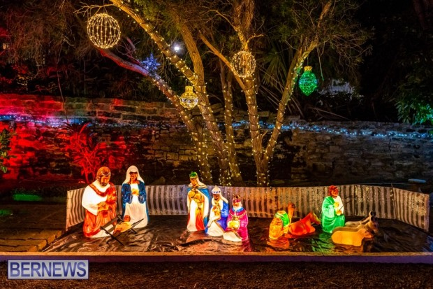 Bermuda St Georges Somers Garden Christmas Wonderland lights display 2020 holiday JS (1)
