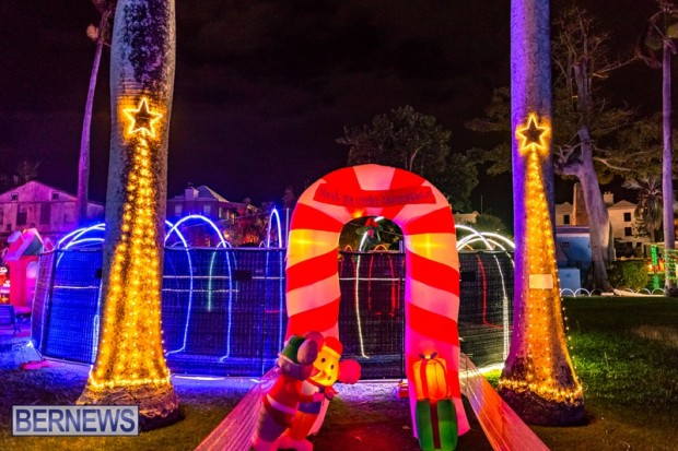 Bermuda St Georges Somers Garden Christmas Wonderland lights display 2020 holiday JS (10)