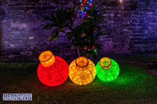 Bermuda St Georges Somers Garden Christmas Wonderland lights display 2020 holiday JS (11)