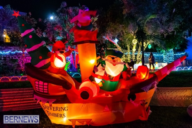 Bermuda St Georges Somers Garden Christmas Wonderland lights display 2020 holiday JS (4)