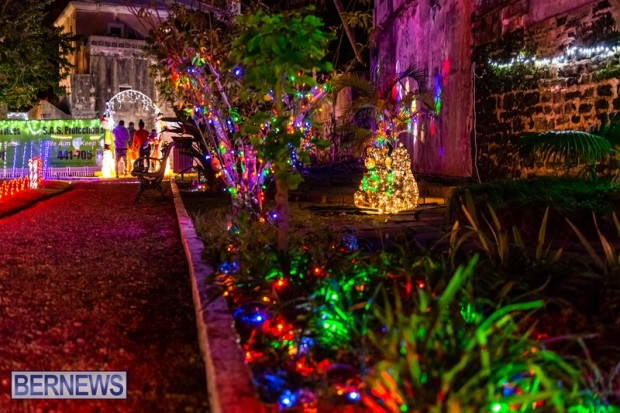 Bermuda St Georges Somers Garden Christmas Wonderland lights display 2020 holiday JS (6)