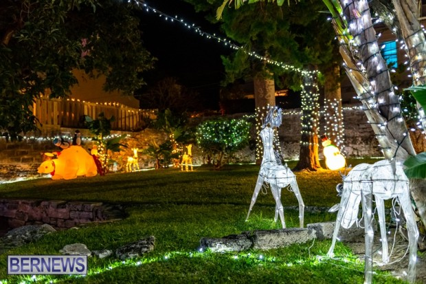 Bermuda St Georges Somers Garden Christmas Wonderland lights display 2020 holiday JS (7)